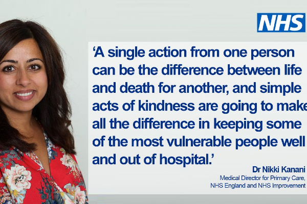 Can you become an NHS volunteer?