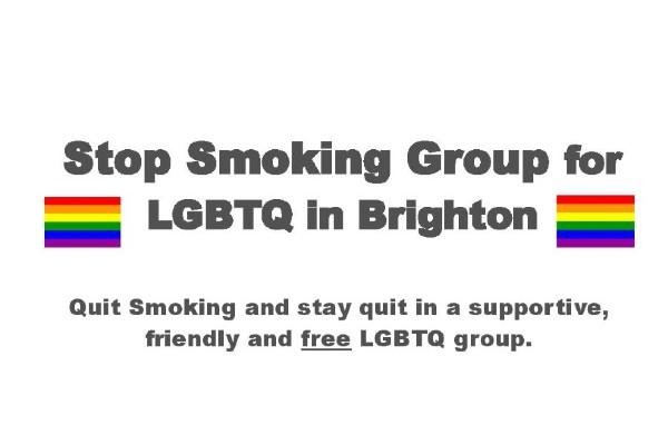 Free 6 week Stop Smoking Group for LGBTQ+ in Brighton