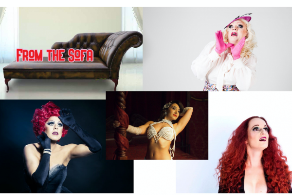REVIEWS: STREAMING DRAG:  La Voix and Myra live streaming shows