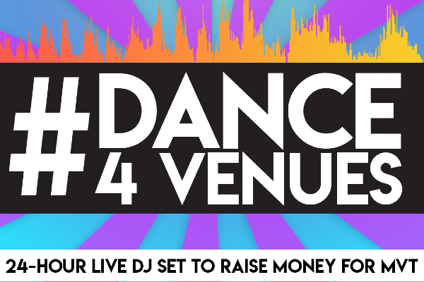 Brighton DJ to live stream a non-stop 24-hour set to raise money for Music Venues Trust