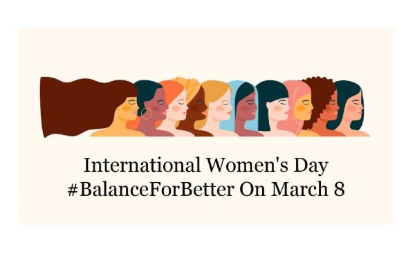 Tomorrow is International Women's Day.
