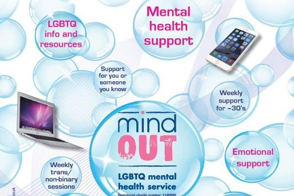 MIND OUT LGBTQ SUICIDAL DISTRESS crowdfunder on last few days