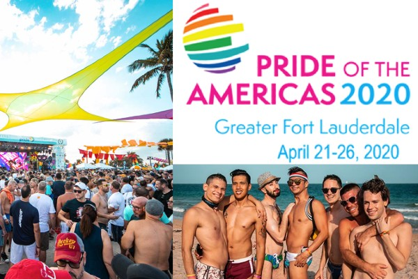 First ever Pride of the Americas @  Fort Lauderdale Pride