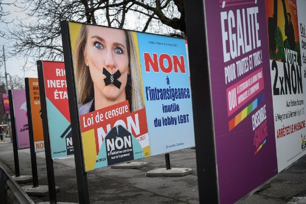 Swiss vote in favour of anti-LGBT discrimination