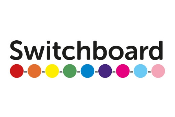 Brighton's LGBTQ+ support services Switchboard have issues the following statement about their services