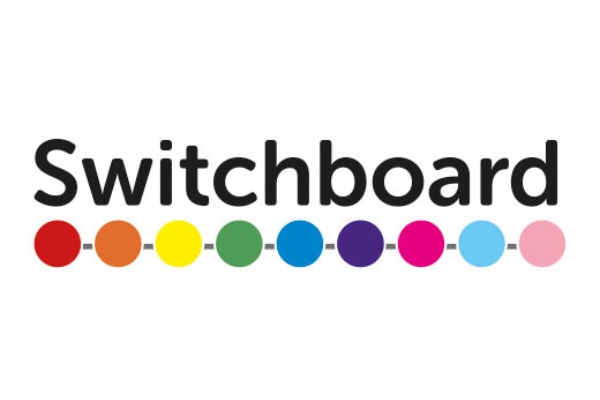 Switchboard host LGBTQ+ Disability Group Zoom
