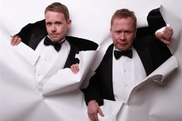 Worbey and Farrell dazzle & entertain with virtuosic piano-playing & quick-fire comedy