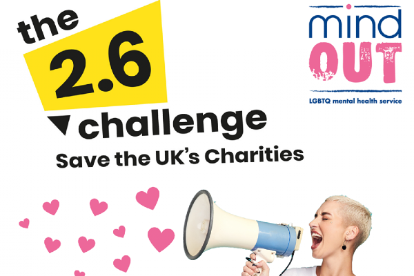 What will you do for the 2.6 Challenge to help MindOut?