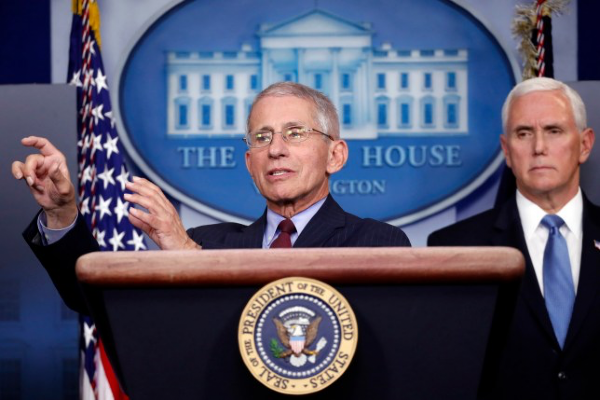 US doctor praises gay community at White House briefing