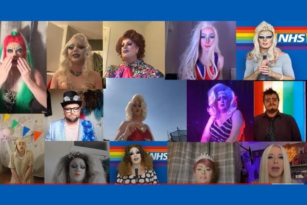 Drag Choir say glamorous 'Thank You' to the NHS