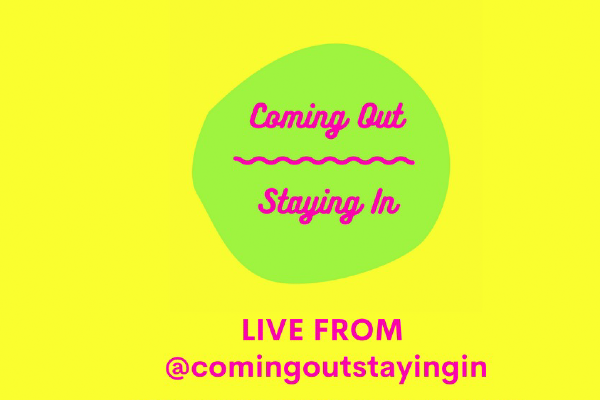 'Coming Out Staying In' Online' Festival fundraising for AllSorts, this weekend