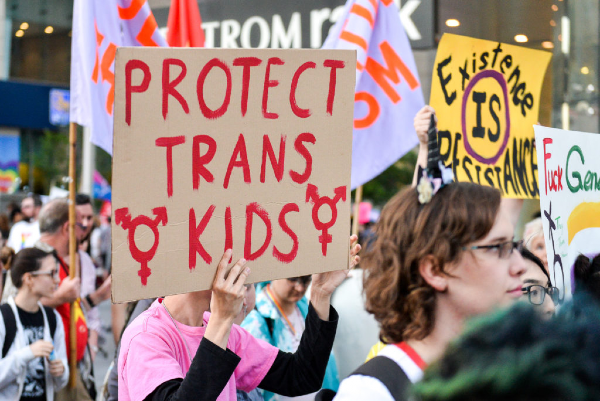 What is happening with trans rights?