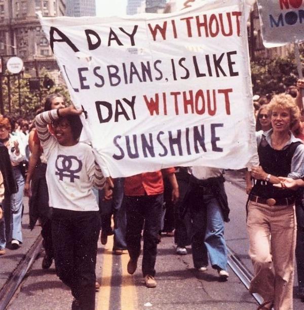 That L in LGBTQ STANDS FOR LESBIAN