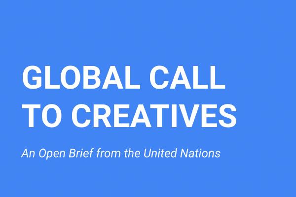 UN – COVID19  CREATIVE CALLING closing date tomorrow!!