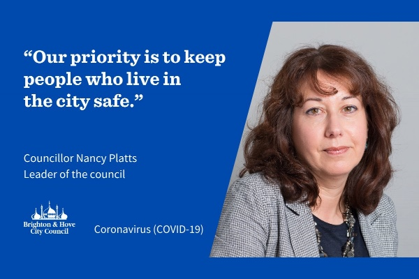 Leader of the council responds to Boris Johnson's lockdown announcements