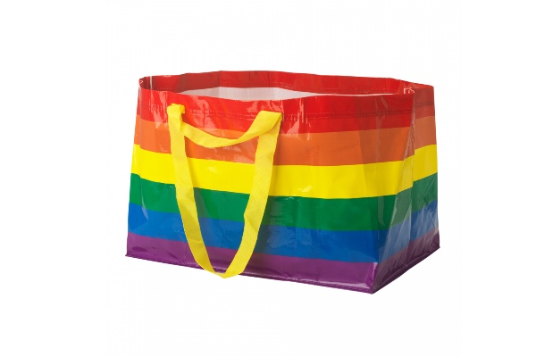 IKEA to sell Rainbow Flag version of iconic FRAKTA bag with 100% of profits going to local LGBTQ+ causes