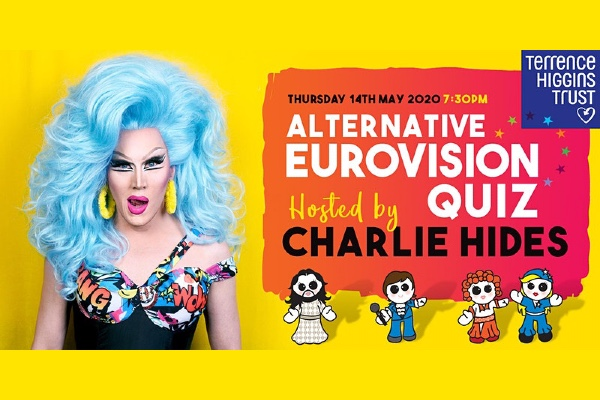 THT's Alternative Eurovision Quiz with Charlie Hides on Thursday, May 14