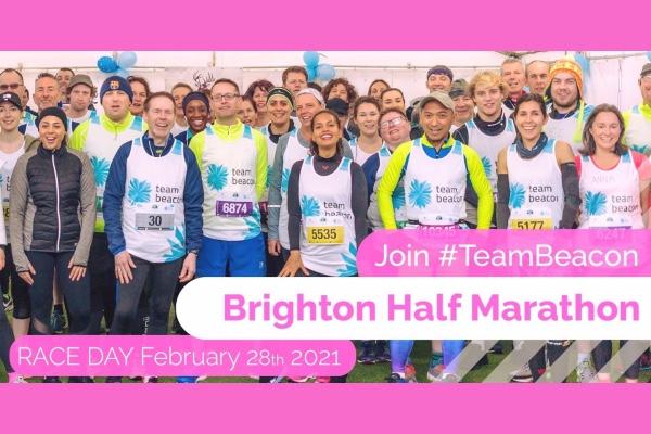 Run for Sussex Beacon @ Brighton Half Marathon 2021