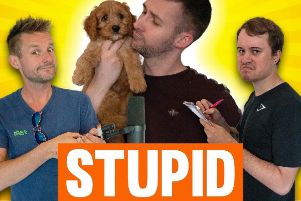 Stupid Boys Club – a new podcast from Alex Ryan, Jonesy and Toby Lawrence