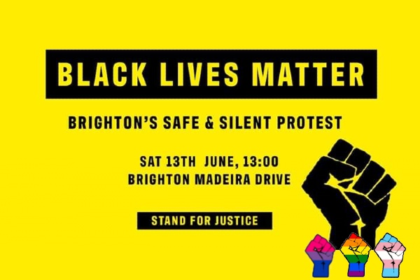 Black Lives Matter protest event Brighton seafront,  tomorrow