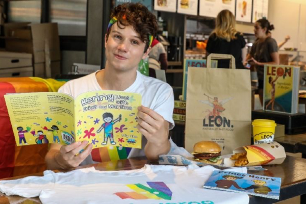 Deliveroo & LEON Add LGBT+ Kids Books to Orders