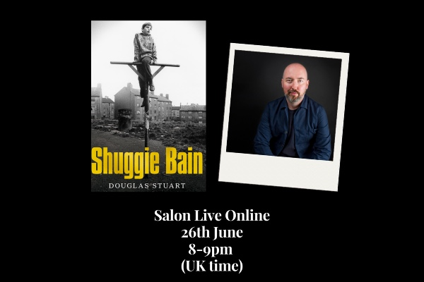 Damian Barr presents Literary Salon tonight!
