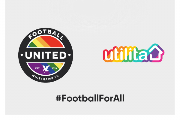 Utilita partners with Whitehawk FC & Rainbow Rovers