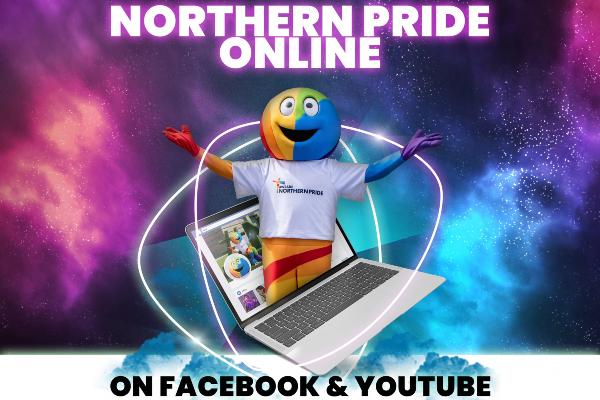 Northern Pride online – Saturday, July 18