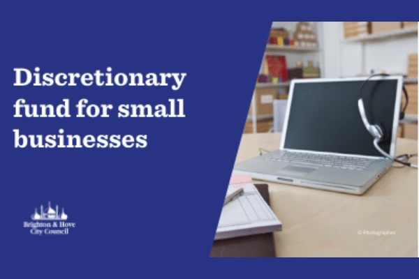 Apply for small business discretionary grant from City Council