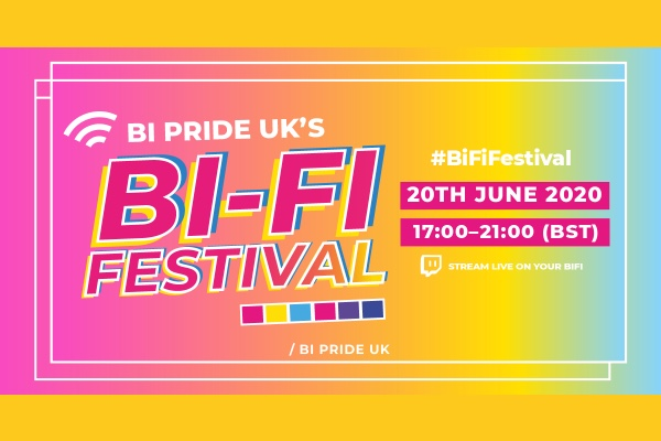 Buckle up for Bi-Fi Festival today: 5pm