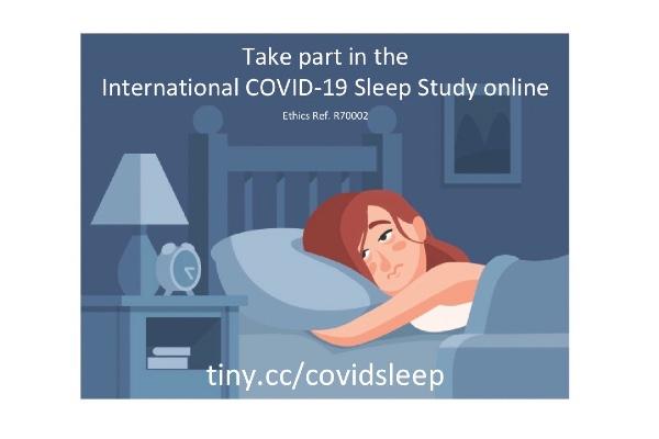 International study on Covid-19's effects on sleep