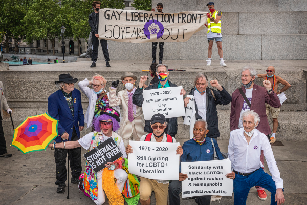 Gay Liberation Front celebrates 50 years of Pride