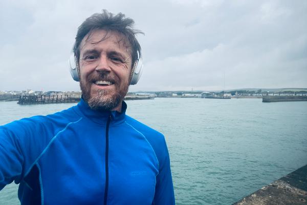 Craig's 144.4 mile run for THT update