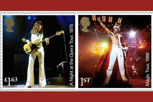 Royal Mail Celebrates Queen + Freddie Mercury