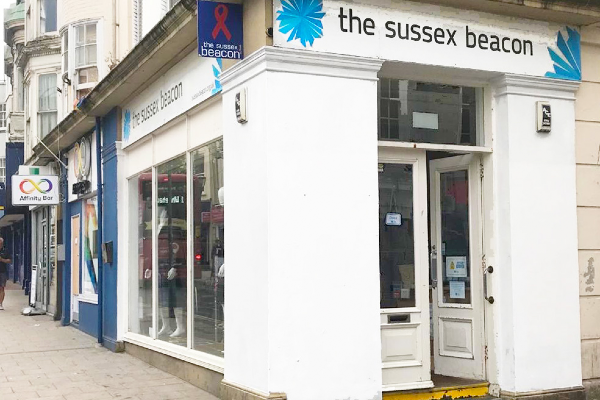 Sussex Beacon charity shops reopen