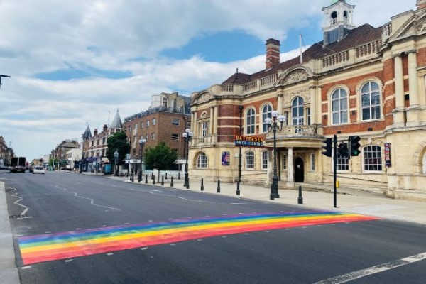 Rainbow Crossing Unveiled in Wandsworth