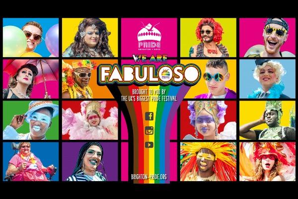FABULOSO Brighton & Hove Pride Digital Festival 2020 coming to living rooms in August