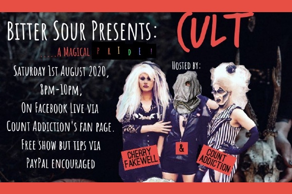 Bitter Sour presents 'CULT – A Magical Pride' on Saturday, August 1
