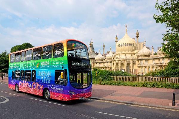 Brighton & Hove & Metrobus say stay at home for Brighton Pride