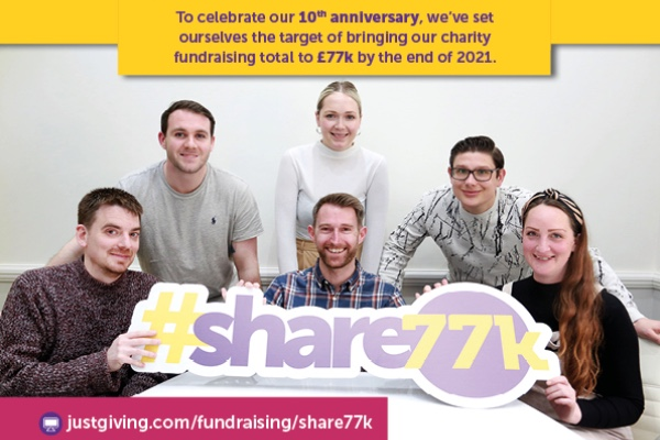 Search Seven launch #Share77k campaign for local charities