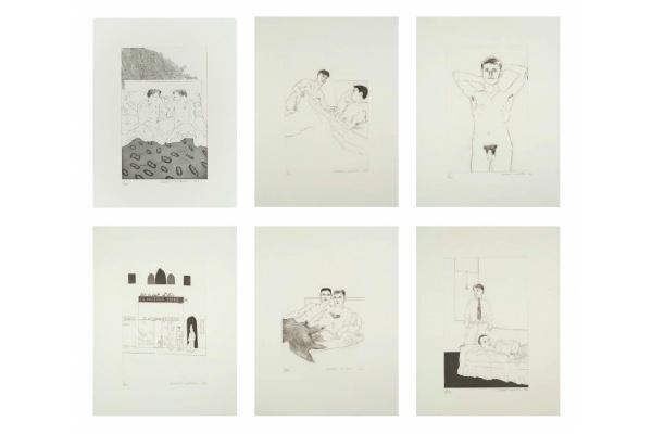Zebra One Gallery launches Hockney exhibition