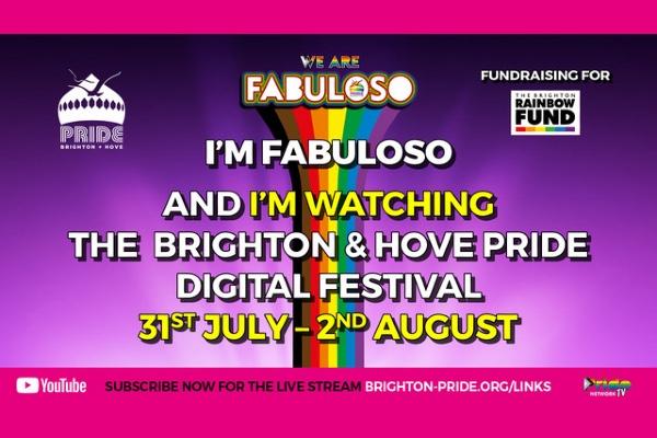 Brighton & Hove Pride: We Are FABULOSO Main Event today 5pm