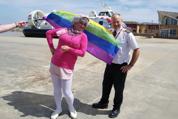 Miss Jason reveals date of Isle of Wight Pride 2021