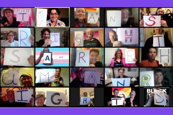 Rainbow Chorus Open Trans Pride Brighton & Hove with heart-warming video concert.
