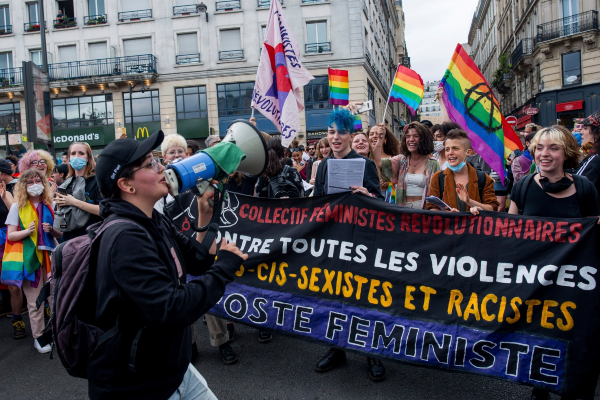 Paris LGBTQ+ March for Equality and Justice
