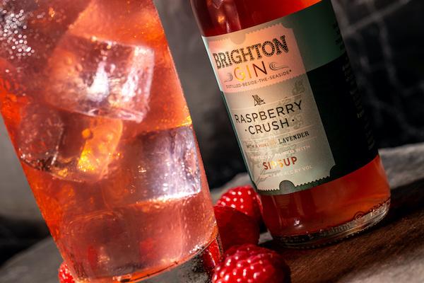 Brighton Gin releases all-natural Raspberry Crush