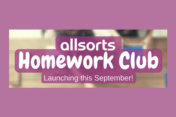 Allsorts announce launch of Homework Club in September