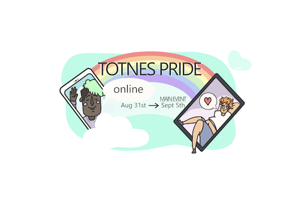 Proud2Be to bring this year's Totnes Pride celebrations online