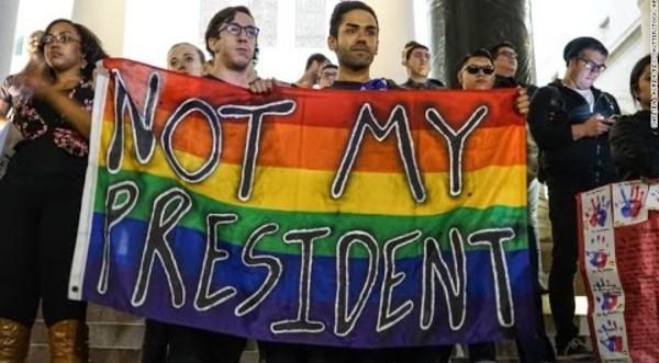 LGBTQ+ groups file complaint against Trump's limited diversity training