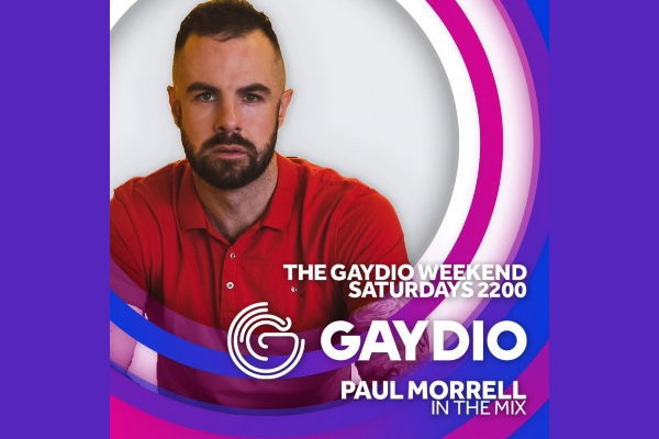 DJ Paul Morrell to join Gaydio with new Saturday show